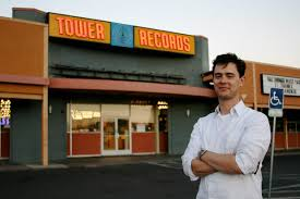 Colin Hanks at Tower Records