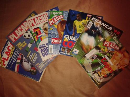 Guias e suplementos especiais de Copas do Mundo - Acervo