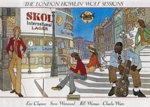 Disco de Howlin Wolf gravado em Londres com a participação de seus fãs ilustres.