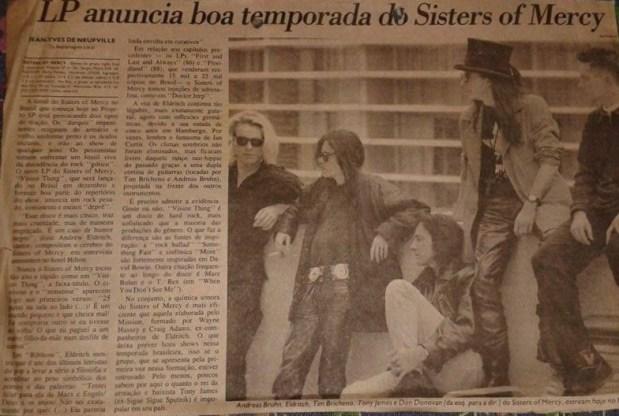 Matéria Folha de S. Paulo por Jean-Yves Neufville 26/Out/1990 (Acervo)