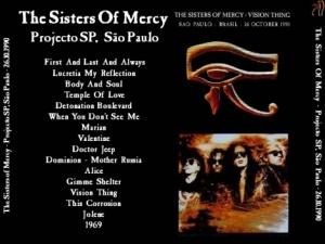 Sao Paulo 1990 - Fanbase-produced cover (back)